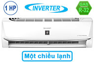 Máy Lạnh Sharp Inverter 1 HP AH-XP10WHW