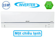 Máy Lạnh Mitsubishi Electric Inverter 2.5 HP MSY-GR60VF