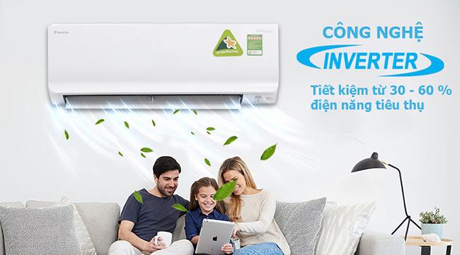 Máy lạnh Inverter Daikin FTKC35TVMV