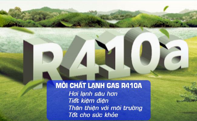 Gas R410A thân thiện với môi trường