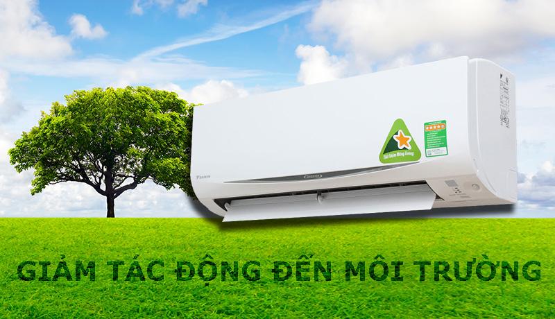 Sử dụng Gas R-410A thân thiện với môi trường