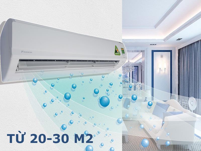 Công suất làm lạnh 2 HP