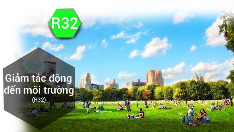 Sử dụng Gas R-32 thân thiện với môi trường