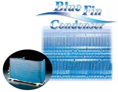 Máy lạnh Panasonic dàn tản nhiệt màu xanh