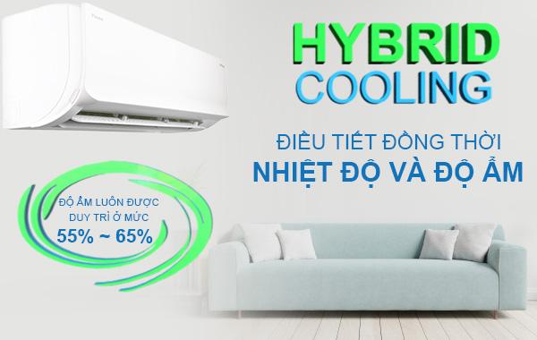 Công nghệ kiểm soát độ ẩm Hybrid Cooling trên máy lạnh