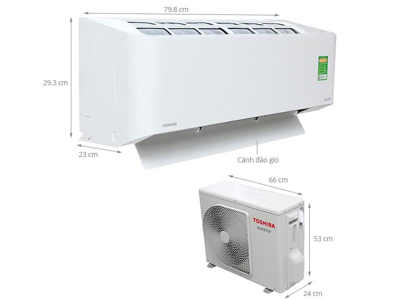 Máy lạnh Toshiba được nhập khẩu nguyên chiếc tại Thailand