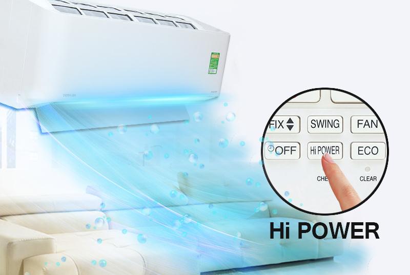 Công nghệ làm lạnh nhanh Hi Power