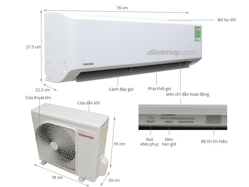 Máy lạnh Toshiba được nhập khẩu nguyên chiếc từ Thailand