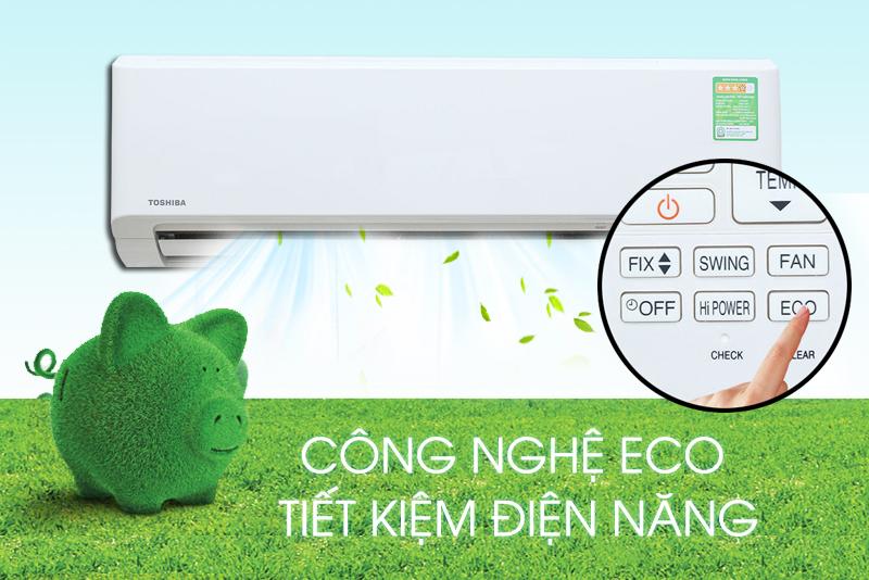 Tiết kiệm điện với chế độ Eco