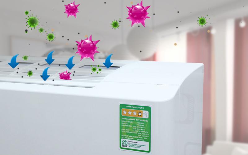 Ngăn chặn sự phát triển của vi khuẩn, nấm gây hại
